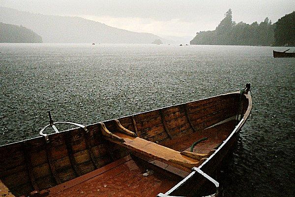 Rain on Lake 2